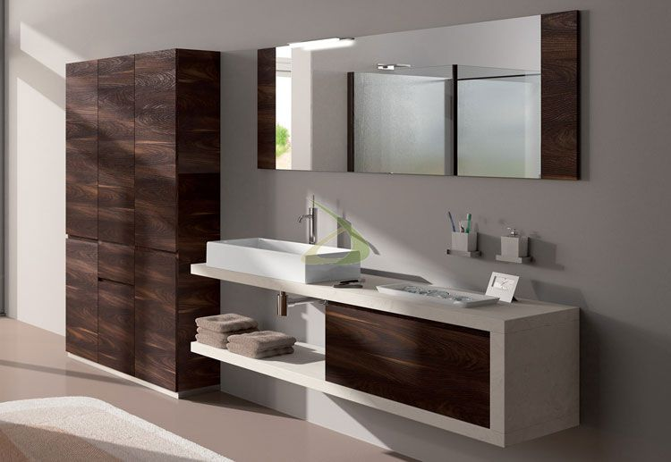 50 Magnifici Mobili Bagno Sospesi dal Design Moderno | toni ...