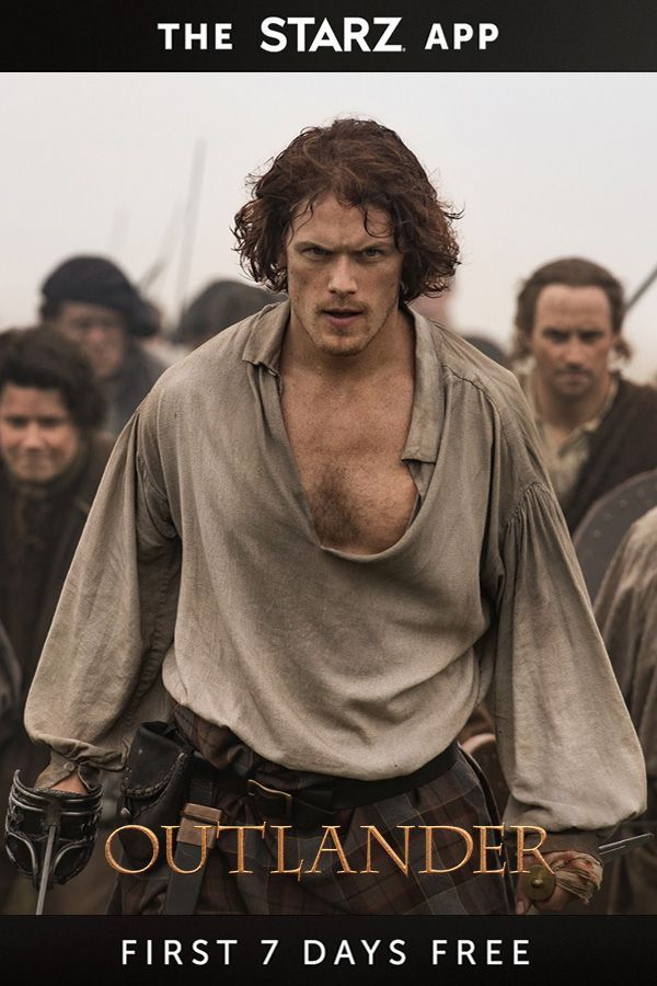Don't miss the latest from Outlander. Download the STARZ