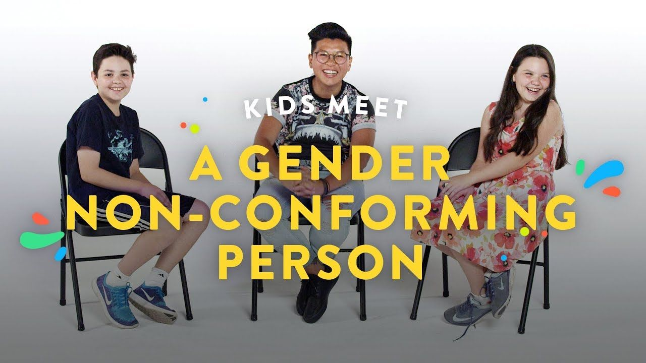 Kids Meet a Gender NonConforming Person Kids Meet