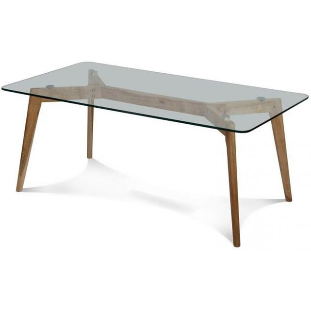 La Table Basse Fiord 110x60x45cm Tire Son Dessin Des Mobiliers De