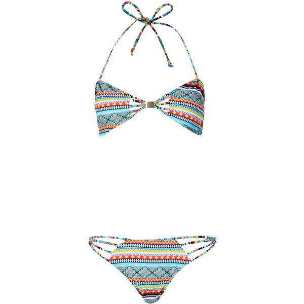 Boohoo Bora Cut Work Bandeau Bikini