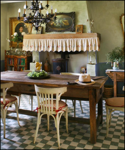 Country Kitchen Table: Best 25+ French Country Interiors Ideas On Pinterest