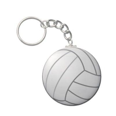 Volleyball Keychain Zazzle Com Volleyball Keychain Custom Keychain
