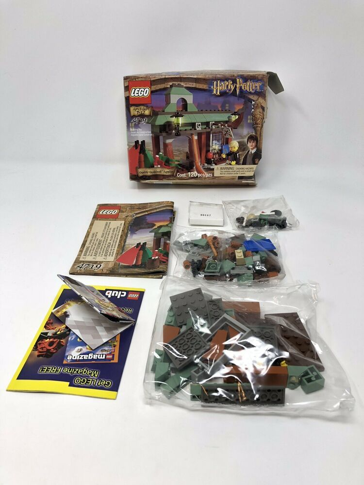 Panier LEGO blue Minifig Container ref 4523 Set 6418 7744 7993 7945 5858 7905