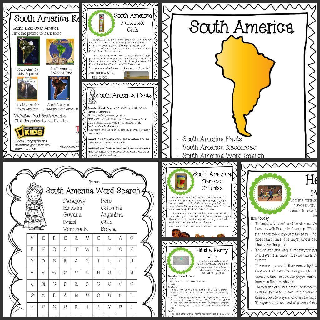 South America In