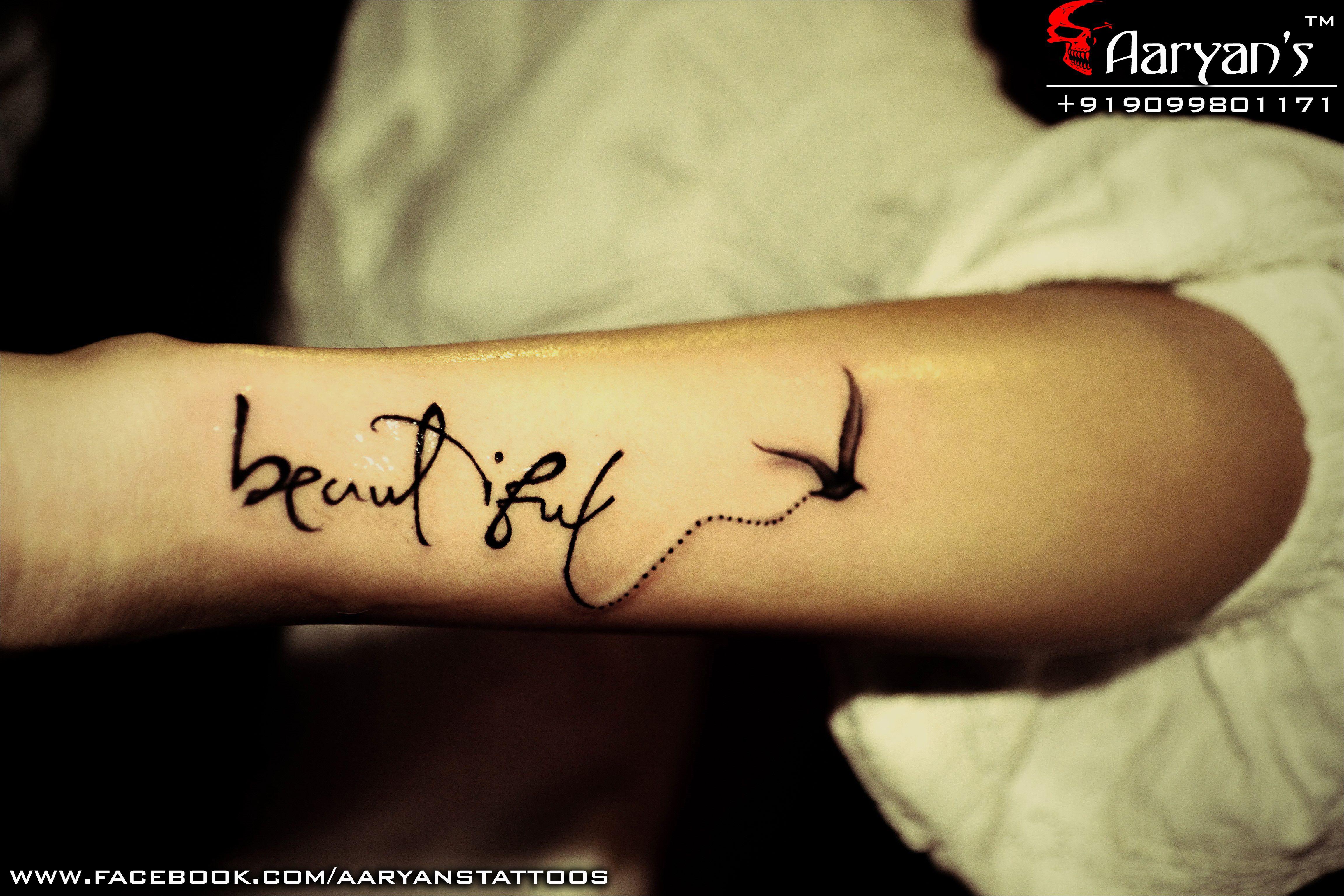 Beautiful Tattoo by Aaryan Tattooist, Worth Sharing, pin
