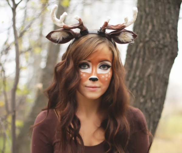 15 Easy Animal Halloween Makeup Tutorials … | Pinteres…