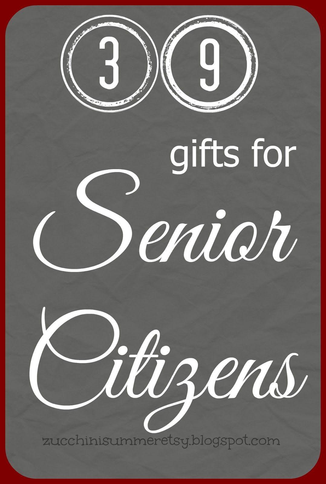 gifts for senior citizens  sc 1 st  Pinterest & Gifts for Senior Citizens | Christmas Ideas | Gifts for seniors ...