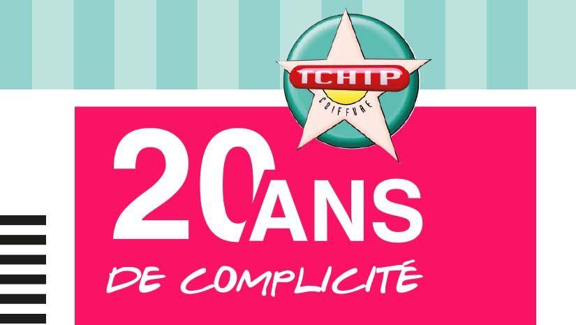 Comme TCHIP, vous fêtez vos 20 ans cette année ?  BINGO ! C\'est cadeau, pour vous exclusivement :    Le jour de votre anniversaire, TCHIP vous OFFRE votre shampooing - coupe- brushing (d\'une valeur de 22 euros).  Profitez-en, parce qu\'on a pas tous les jours 20 ans !