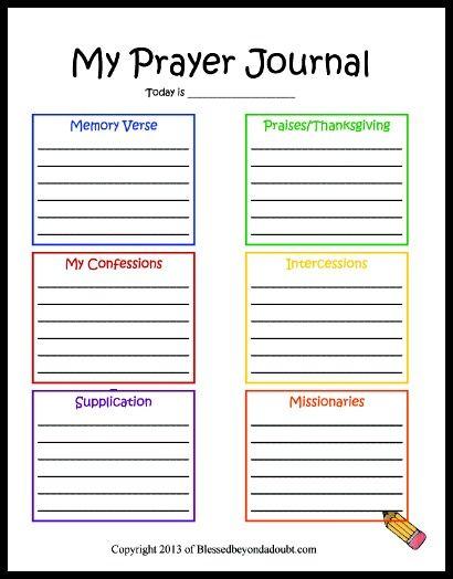 free children s prayer printable homeschool