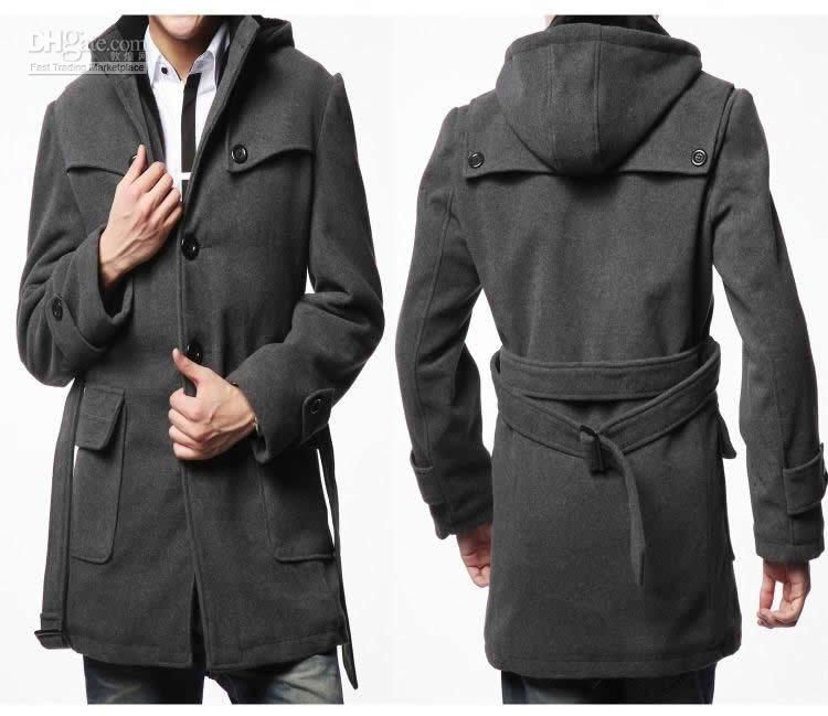 Collection Hooded Long Coat Pictures - Reikian