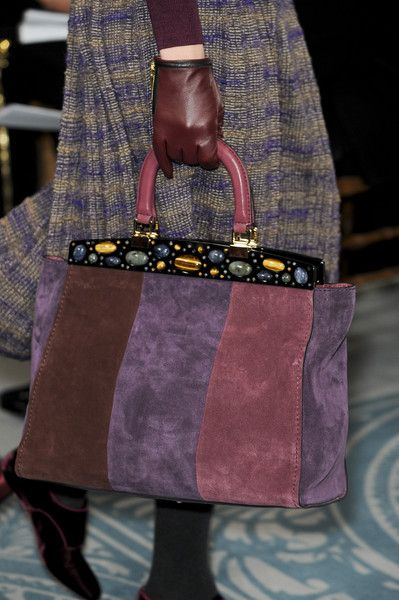 Tory Burch Fall 2013 - Details - My favorite of this style handbag.