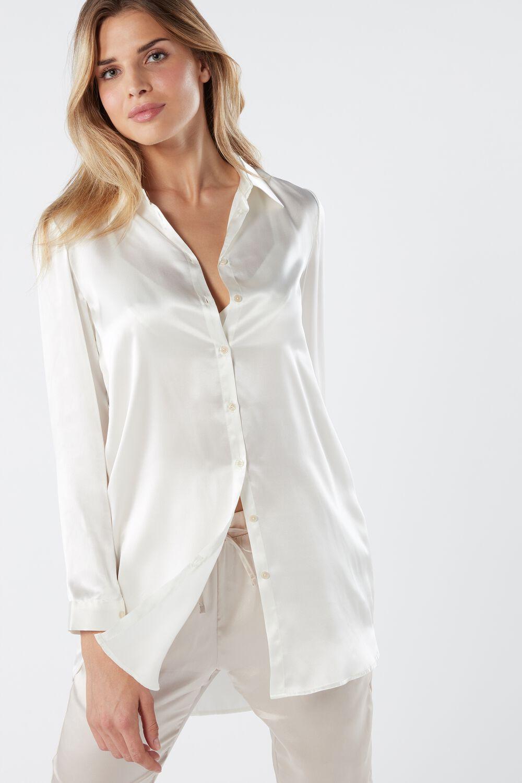 Camicia In Seta Intimissimi Nel 2020 Camicie Di Seta Camicia Vestiti Per Le Donne