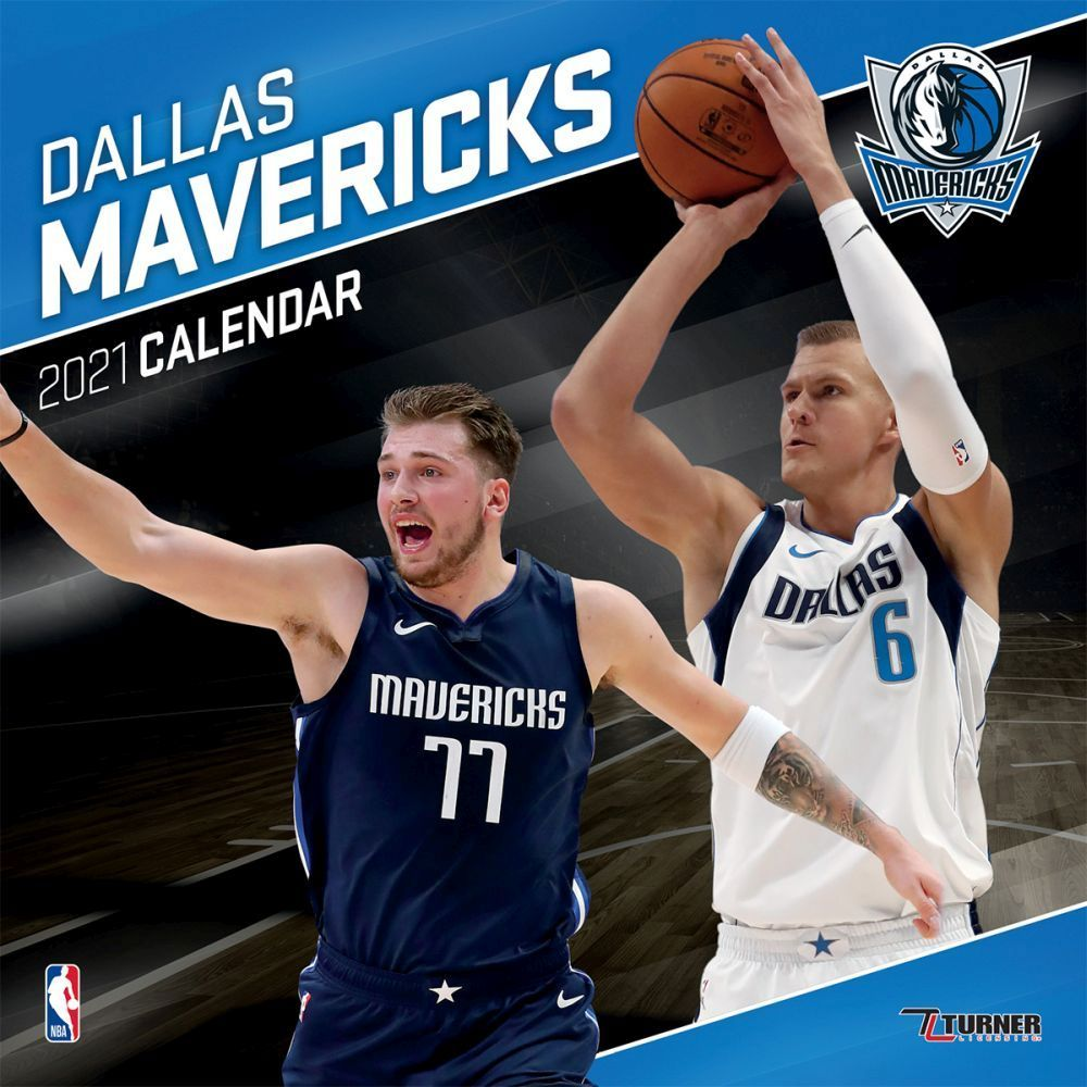 Dallas Mavericks 2021 Calendar Made For Passionate Basketball Fans This Team Wall Calendar Includes Poster Si Dallas Mavericks Mavericks Professional Athlete
