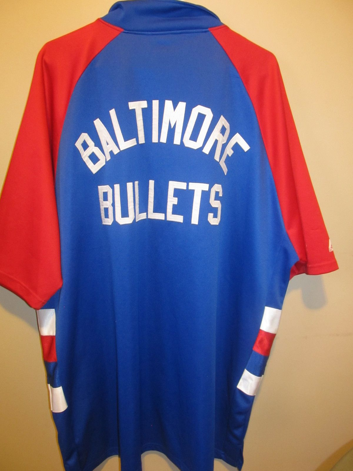 584155c94 Vintage Baltimore Bullets Shooting jersey
