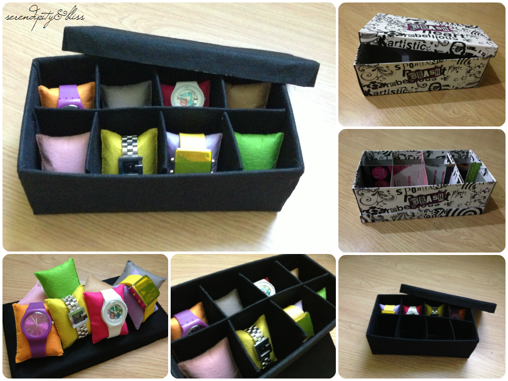 Diy Watch Organizer Diy Watch Pinterest Diy Diy Organization