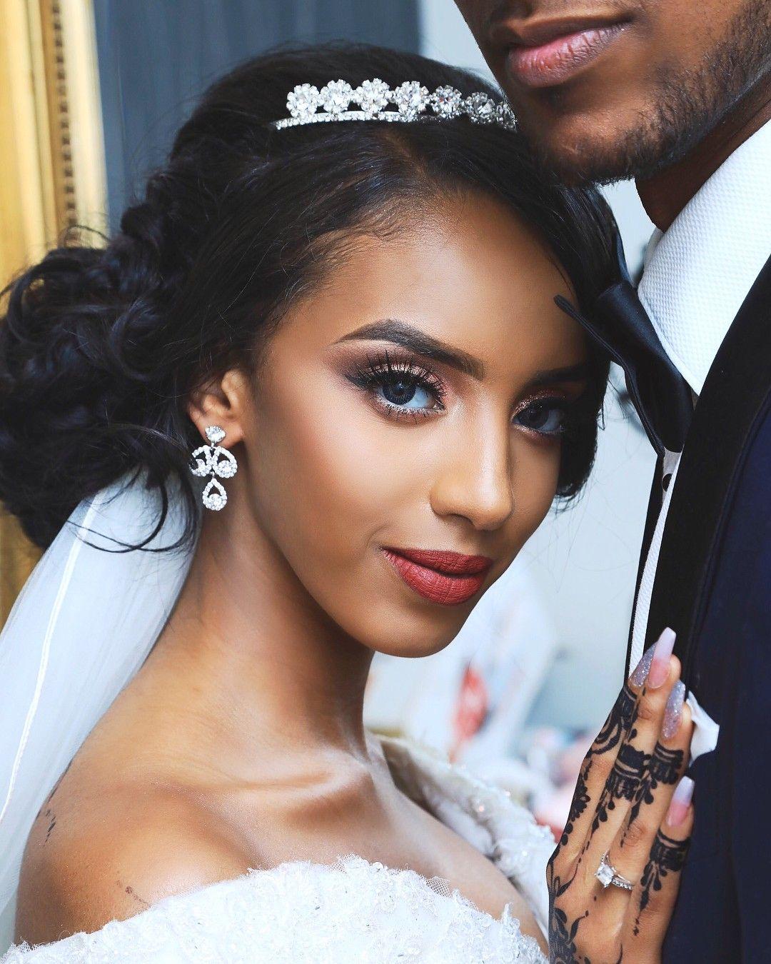 Natural Somali Woman Somali Bride Somali Wedding Wedding Hairstyles