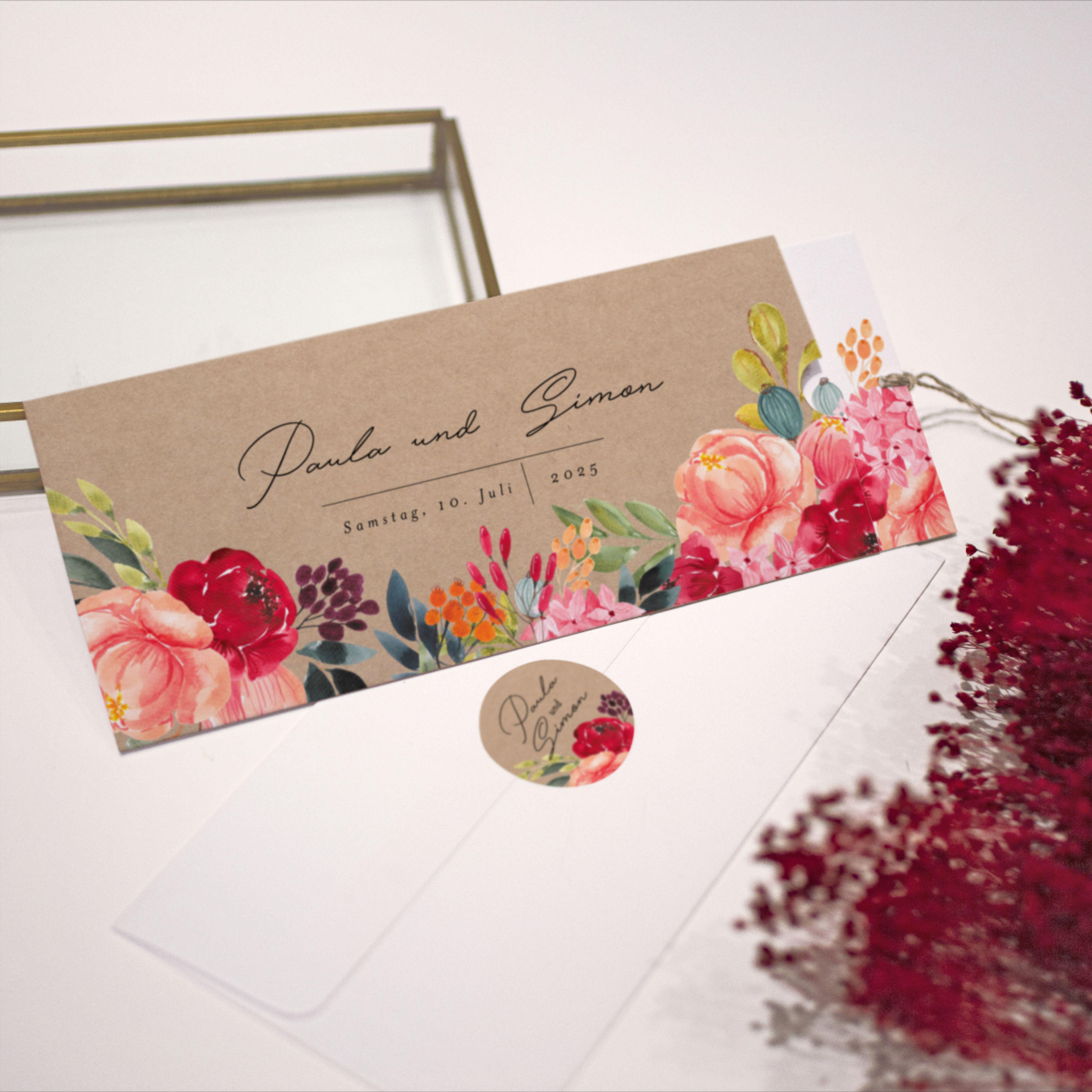 Hochzeitskarte Eden M68-001