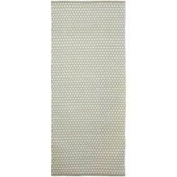 Photo of Handmade carpet Wooten made of cotton in gray / beigeWayfair.de
