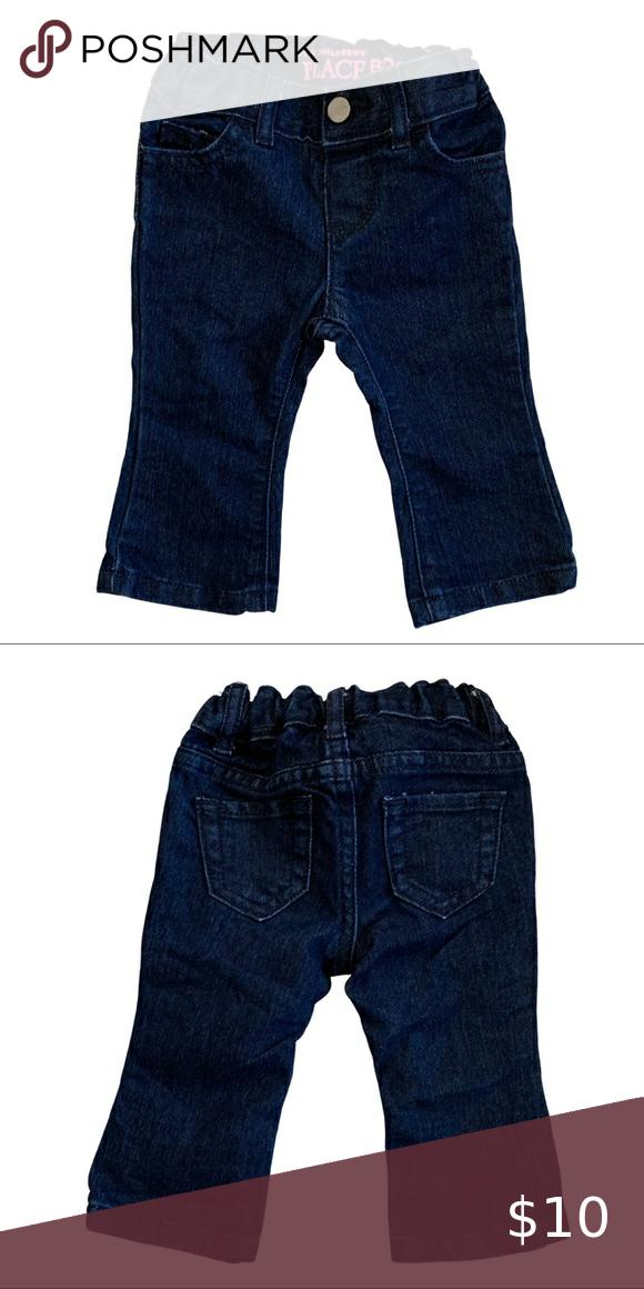 Euc Dark Blue Jeans 6 9 Months Dark Blue Jeans Blue Jeans Boys Denim Jeans