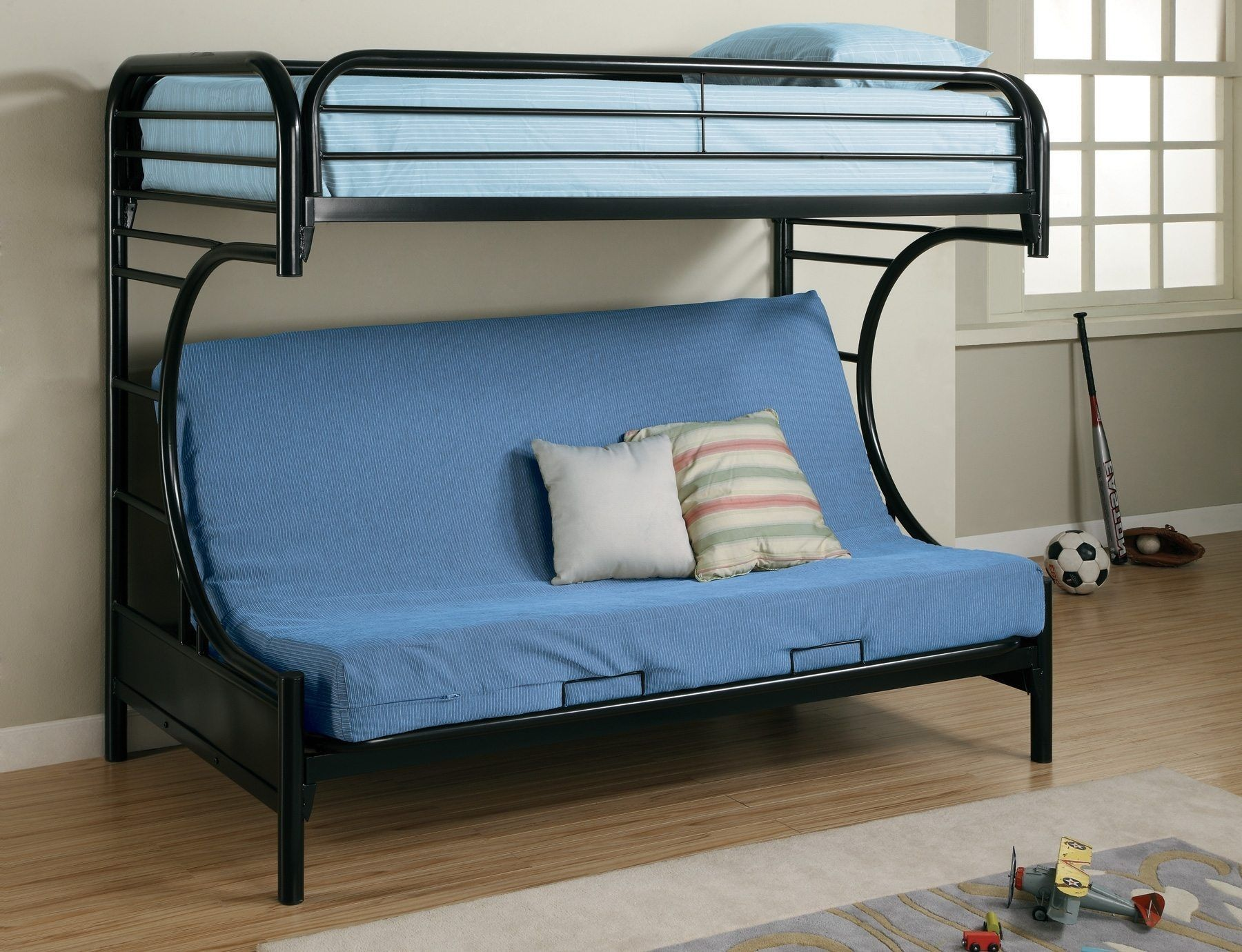 Blue Couch That Turns Into Bunk Beds Bunk bed designs