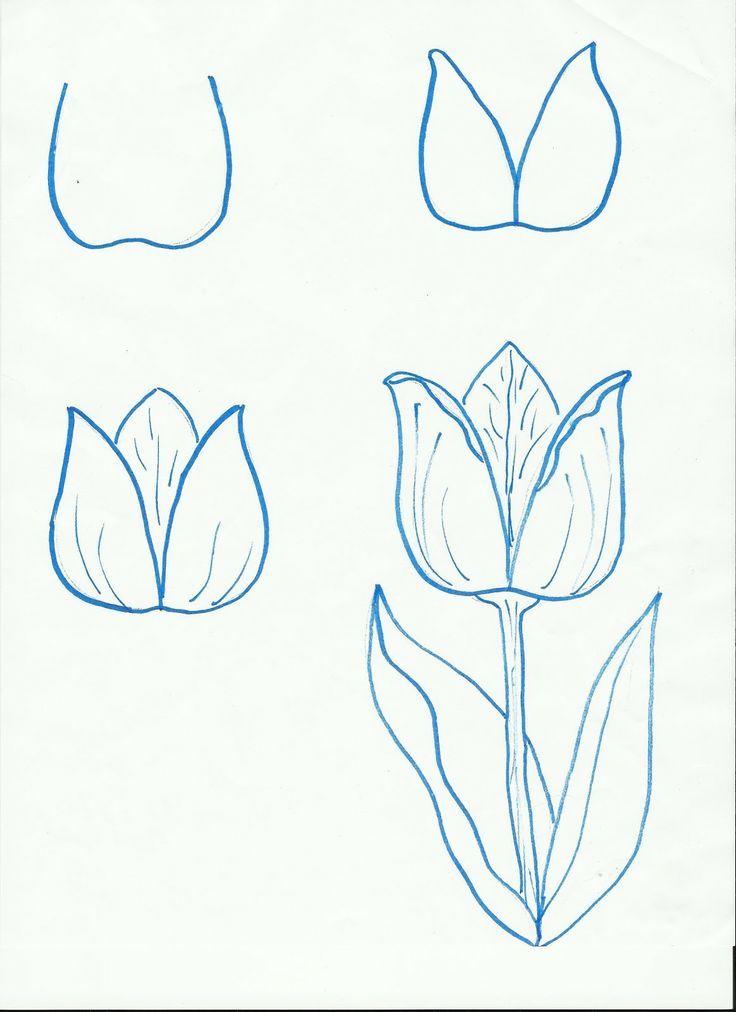 Dessin d 39 une fleur je dessine toujours des marguerites il s 39 agit d 39 une alternative agr able - Comment dessiner une fleur ...