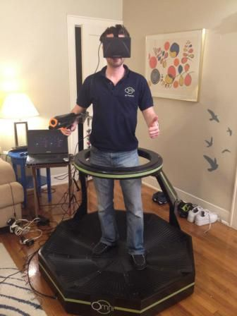 Virtuix Omni Takes Virtual Reality In Every Direction | VR helmut