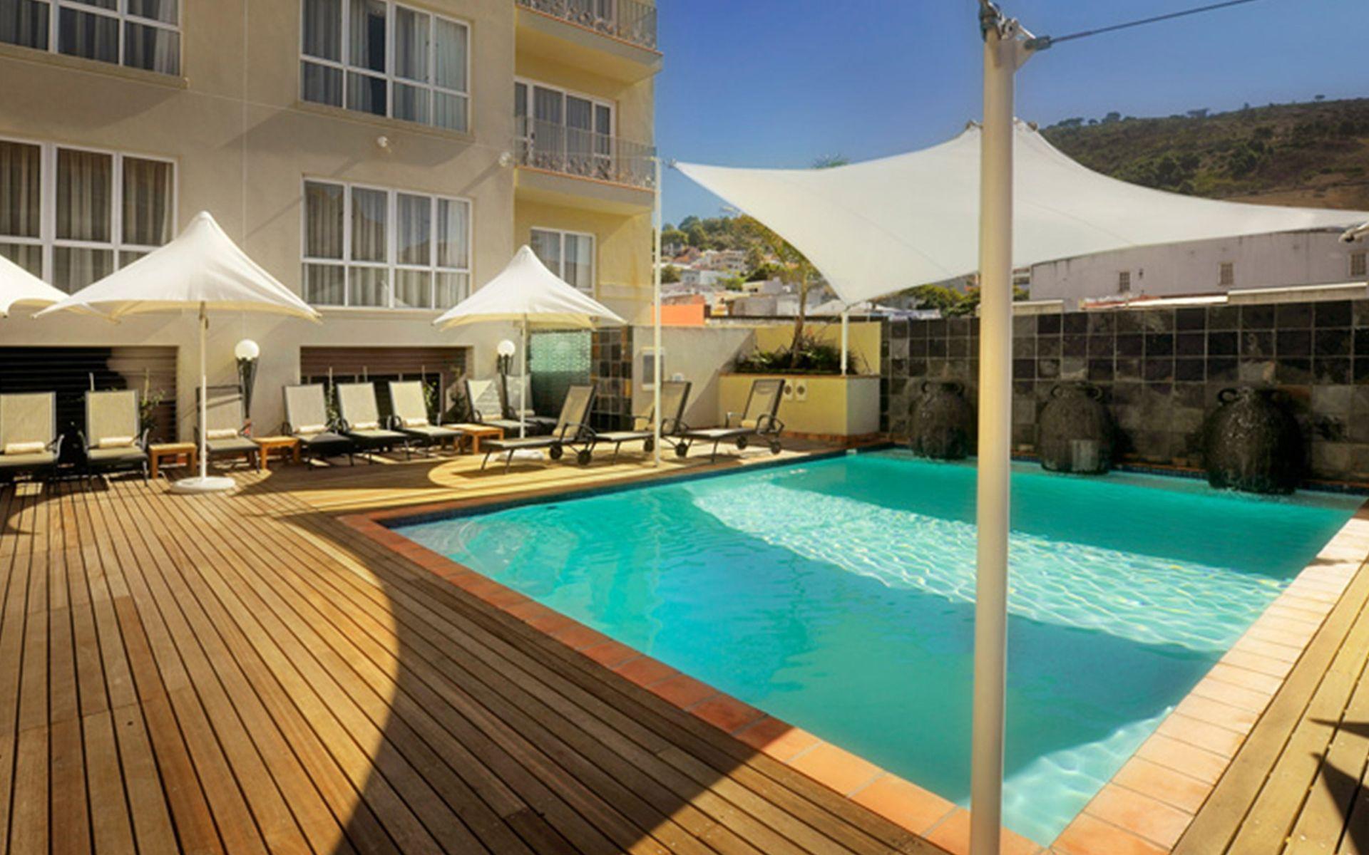 The Hilton Cape Town City Center - Pool Deck, Cape Town ...