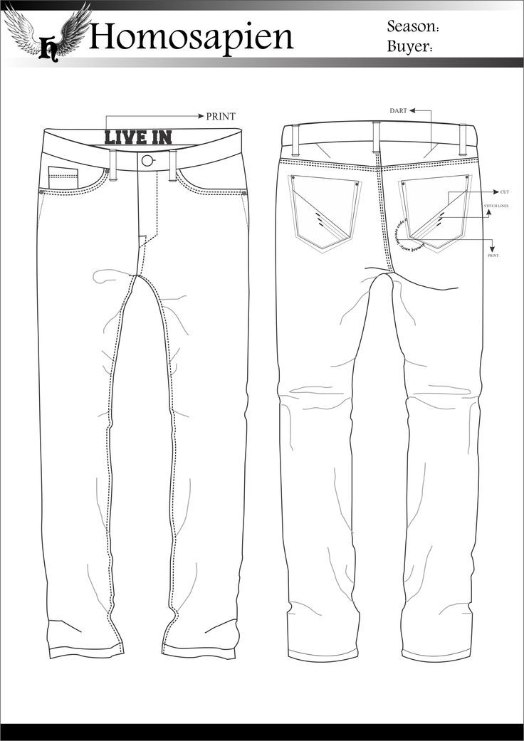 calça jeans illustrations in 2018 pinterest fashion sketches