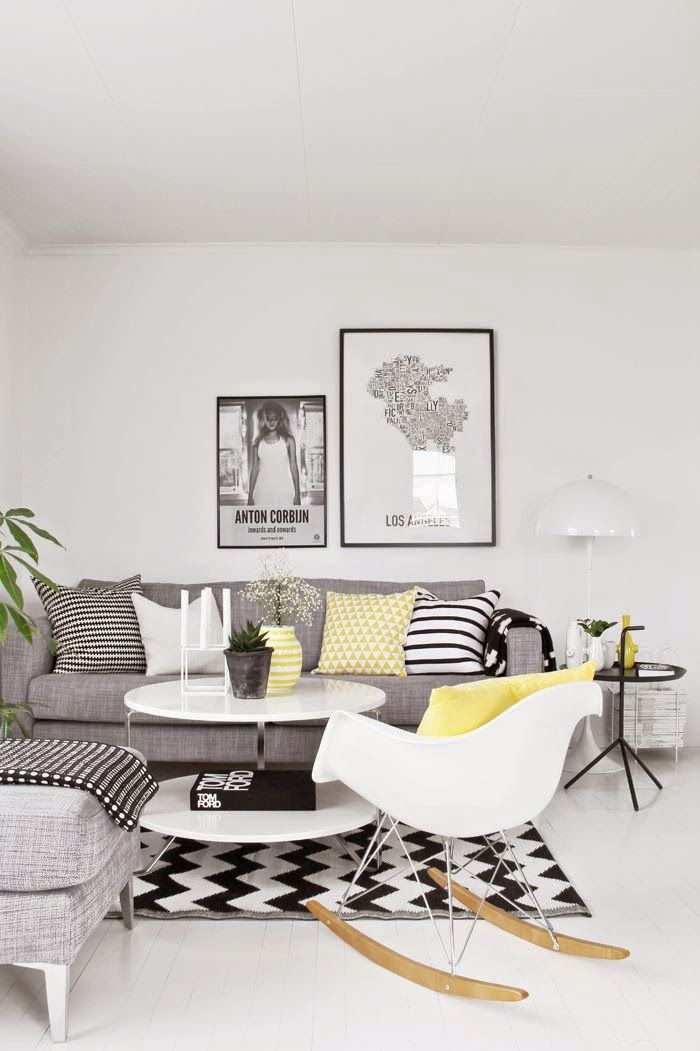 25 Ideas De Decoración De Salas Que Poner Al Lado Del Sofa Small Living Room Design Monochrome Living Room Living Room Interior