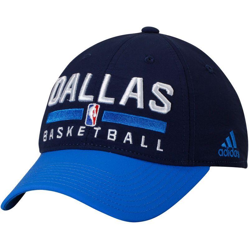 f0ded72de3a Dallas Mavericks adidas 2-Tone Practice Slouch Adjustable Hat - Navy ...