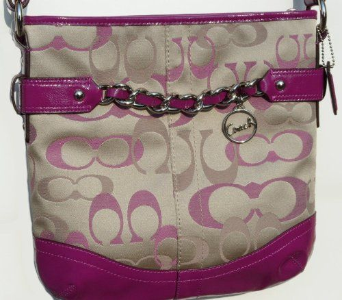 Coach F20502 Optic Signature N S Chain Duffle « Holiday Adds Coach Shoulder  Bag f421974a956a8