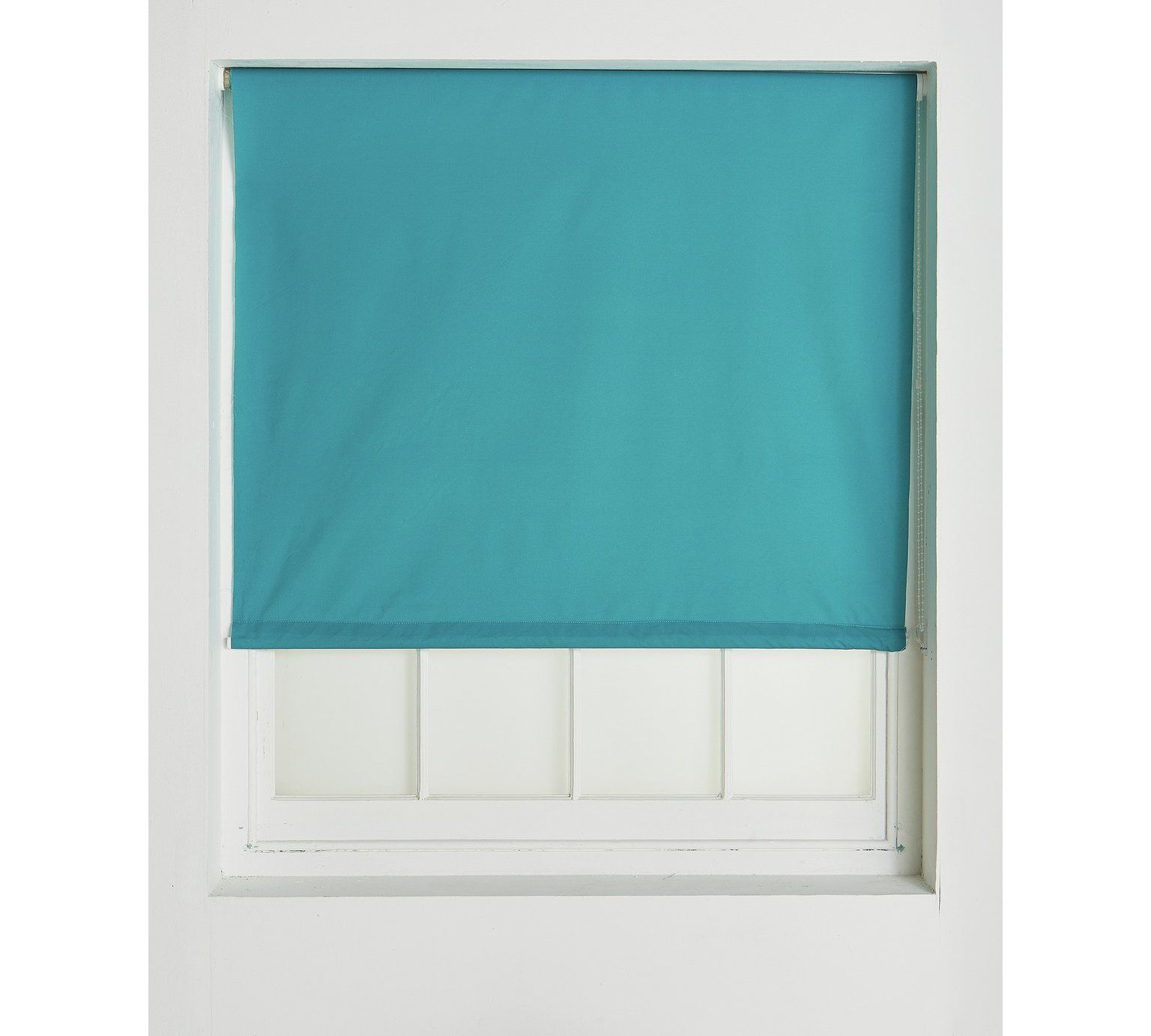 Buy ColourMatch Blackout Thermal Roller Blind - 3ft - Teal at Argos ...