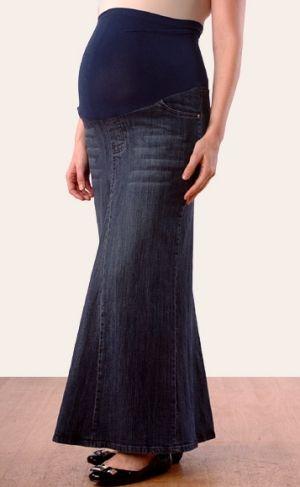 26c8c96d1b4b4 Motherhood Maternity skirt with