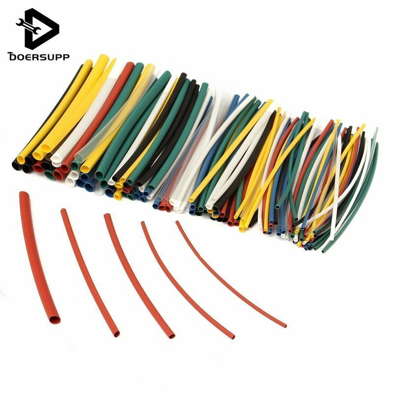 Wrap Sleeve Assorted Sleeving  Heat Shrink Tube Car Electrical Cable