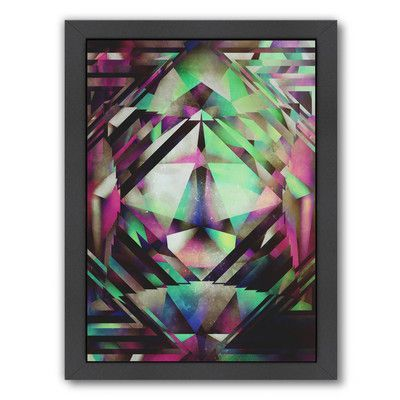 Americanflat 'Ace of Bottles' by Spires Framed Graphic Art Size: