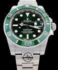 Rolex Uboot Grün Hulk 116610lv Edelstahl Keramic Blende Uhr Mint Armband- & Taschenuhren #rolexsubmariner