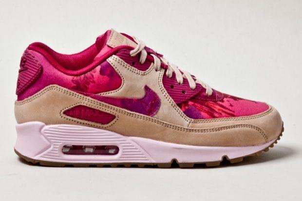 tan floral print nike   Liberty x Nike WMNS Air Max 90
