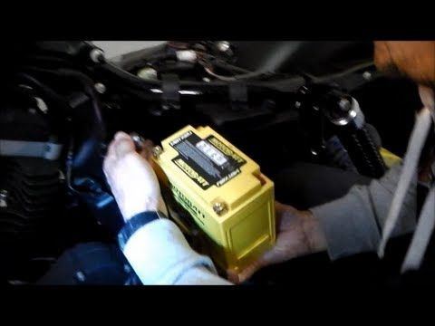 Battery Replacement Sportster Harley Harley Davidson