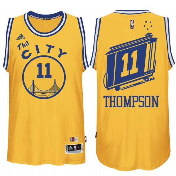 3a9272f68 golden state warriors blank yellow throwback swingman jersey