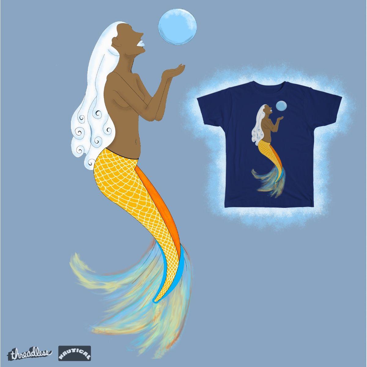 Koi Mermaid on Threadless - #Illustration