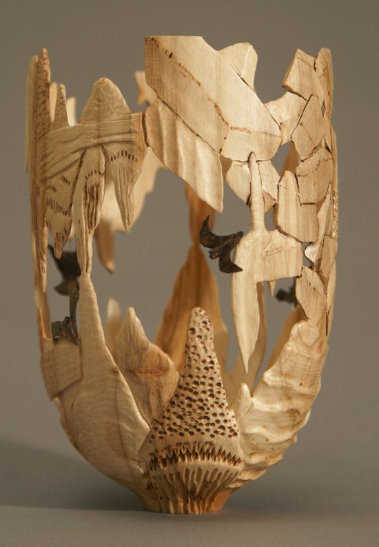 Michael Kehs, woodworks #wood #art #crafts #sculpture
