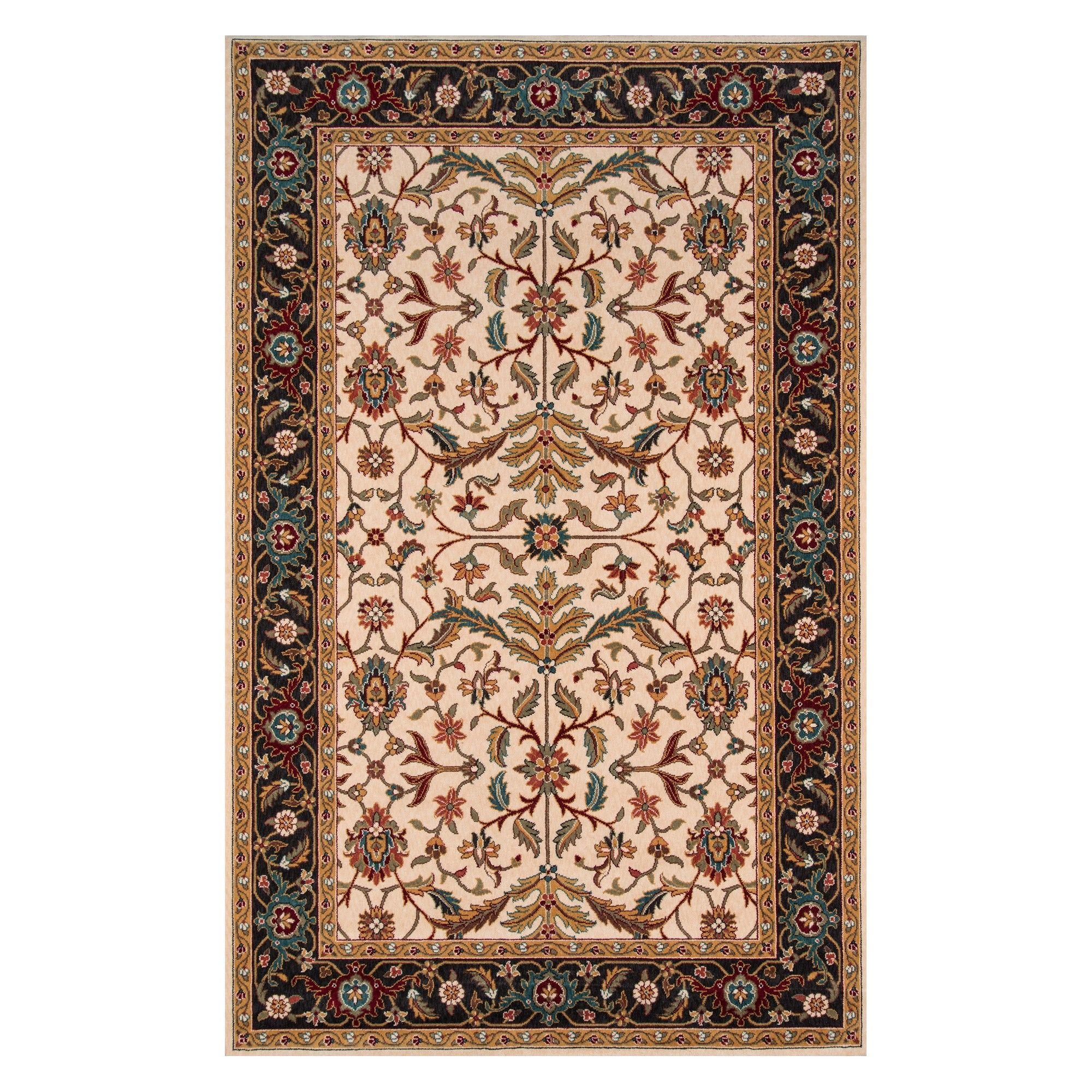 Best 3 X5 Floral Loomed Accent Rug Charcoal Momeni Gray 400 x 300