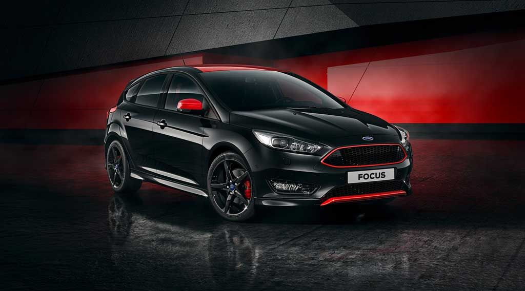 Ford Focus Red Edition And Black Edition Available For Order In
