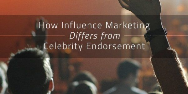 #Mobileapp How Influence Marketing Differs from Celebrity Endorsement https://t.co/tAiMuYAogN https://t.co/uikTSu9dfC