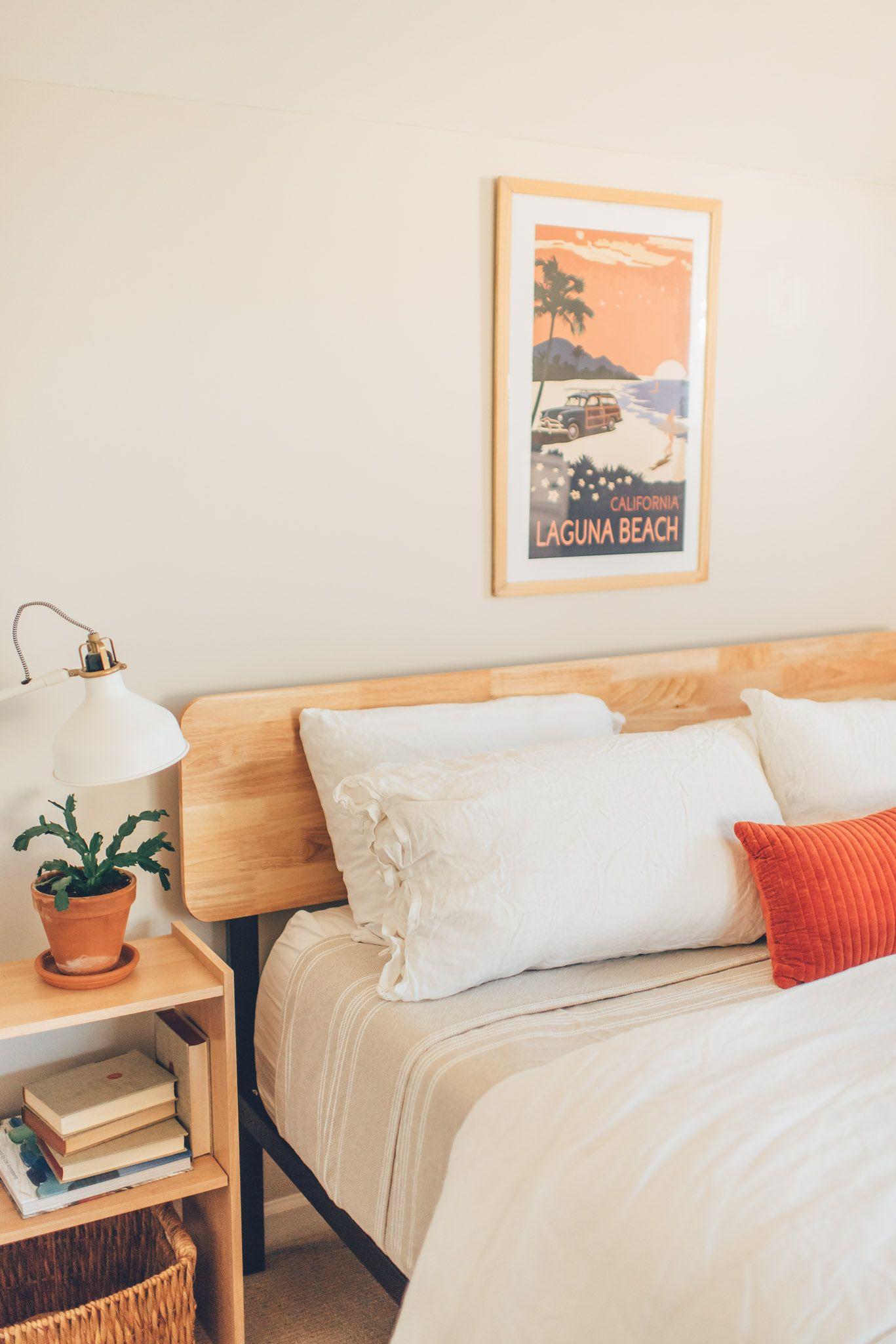 Olivia Metal And Wood Platform Bed Frame Wood Platform Bed Frame