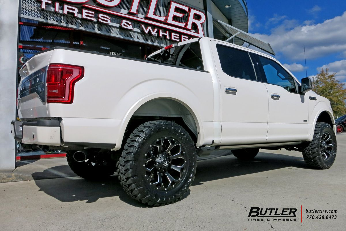 Ford F150 With 20in Fuel Assault Wheels Exclusively From Butler