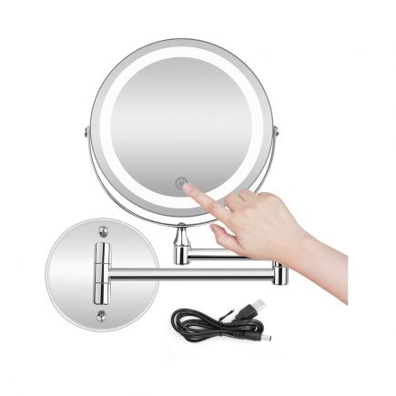 Top 10 Best Wall Mounted Lighted Makeup Mirror In 2020 In 2020 Wall Mounted Lighted Makeup Mirror Wall Mounted Makeup Mirror Makeup Mirror With Lights