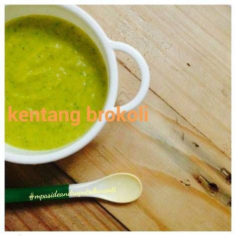 Resep Bubur Kentang Kabocha Brokoli Mpasi 6 Bulan Oleh Marilyn Moniek Resep Resep Makanan Bayi Kentang Makanan Bayi