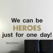 Frase adesiva David Bowie